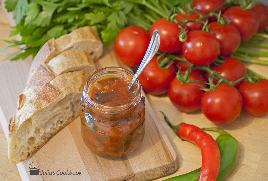 Соус томатно-медовый