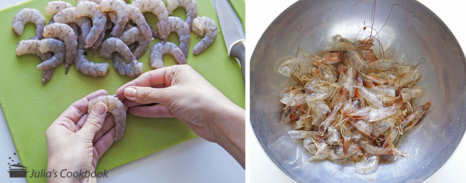 Креветочный биск с тыквой