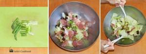 Салат с прошутто и вялеными томатами