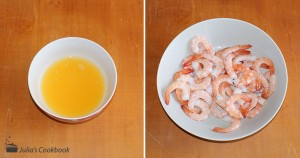 Креветки в апельсиновом соусе