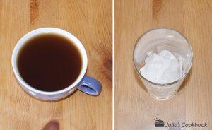 Холодный чай с гренадином