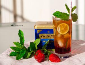 Холодный чай с гренадиномХолодный чай с гренадином