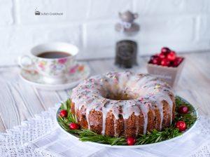 Ореховый кекс с цукатами