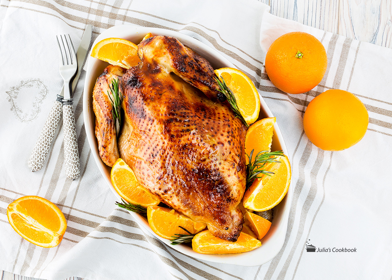 Курица в апельсиновом соусе