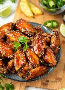 Куриные крылышки по-гавайски